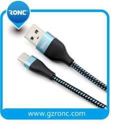 De nieuwste Universele Gevlechte Kabel van de Gegevens van de Micro- USB 8 van de Speld Usb- Lader voor de Androïde Telefoons van de Telefoon van I