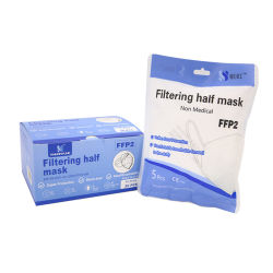 Fashion Particle Filtering half Mask Disposable Mask En149 FFP2 Mask Voor openbaar gebruik gemaakt in China