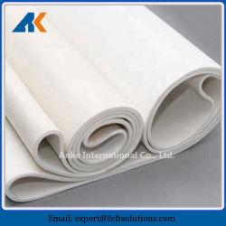 Endless Nomex ressenti avec des matériaux en polyester résistant à la chaleur de la courroie