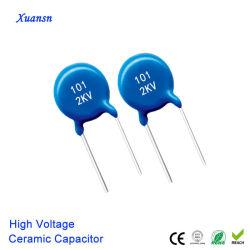 Buon condensatore di ceramica ad alta tensione 101j 2kv Y5p