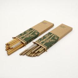 Boire de la paille écologique de la paille de bambou