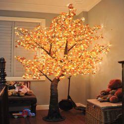 Искусственные Topiary кленового дерева со светодиодной подсветкой для праздника украшения