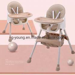 El bebé la alimentación de alta silla plegable Tabla de los niños portátil