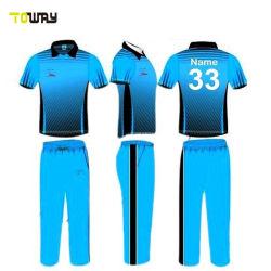 Nouvelle conception de nouveaux chandails de cricket de modèle pour la vente