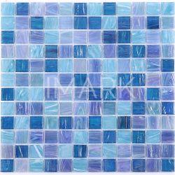 Rainbow carreaux de mosaïque de verre de couleur pour piscine couvrant le commerce de gros