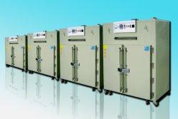 Haute efficacité chauffage cyclique industriel porte double four de séchage à air chaud