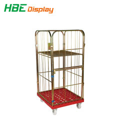 Hotel Kleding Opslag Wasserij Rolling Box Pallet Roll Container
