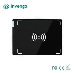 China buena calidad precio barato de largo rango de distancia de 860 960 MHz tarjeta RFID UHF Sticker 1 cable USB Lector integrado de escritorio