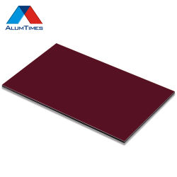 China Principales decoración flexible de aluminio ACP