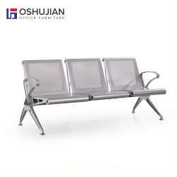 Station de mobilier de bureau Oshujian métal siège d'attente de l'aéroport piste Président