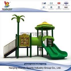 La plastica usata parco di divertimenti esterno del campo da giuoco della trasparenza dei capretti scherza i giocattoli