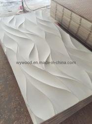Het decoratieve In reliëf gemaakte 3D MDF Comité van de Muur voor het Behandelen van de Muur
