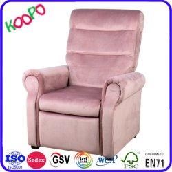 Kinderrecliner-scherzen faule Jungen-Massage-Stuhl PU-Kind-Möbel Sofa-Couch