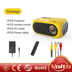 Поддерживает разрешение 1080p Full HD ЖК-Multimedia мини-Карманный портативный интерактивный проектор для мобильных ПК