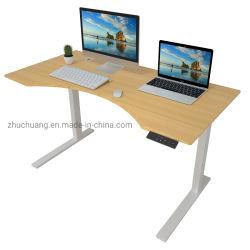 Saúde ergonómico mobiliário de escritório Aço Elevação Permanente reguláveis em altura de turismo