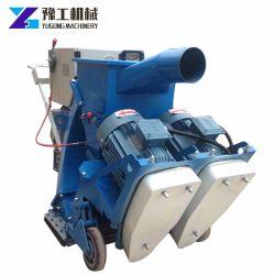 Superficie de la placa de piso extracción Granallado Máquina con aspiradora