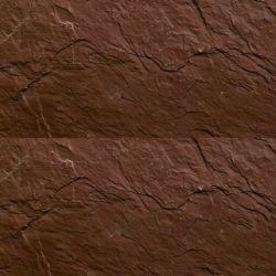 石の壁パネルのスレートのように見える織り目加工のスレートの磁器のタイル