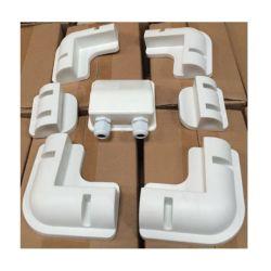 자외선 차단 블랙 또는 화이트 ABS 플라스틱 솔라 패널 브래킷 Caravan Motor Home RV용 모듈 장착