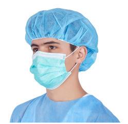 Non-Woven одноразовые хирургические маску для лица с реактивной тяги на Bfe>99%