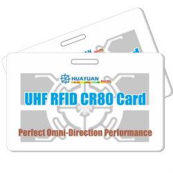 Van CEI 18000-63 Impinj Monza 4QT UHFkaart RFID de In alle richtingen van het Type C advertentie-5604QT
