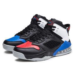 高い上のエアクッションはバスケットボール靴メンズ方法偶然靴のスニーカーを遊ばす