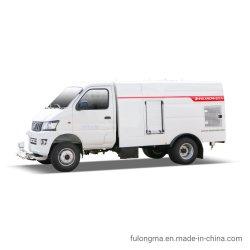 Fulongma 1.5Cbm Electric Power l'énergie verte Nettoyage et entretien de la route le chariot