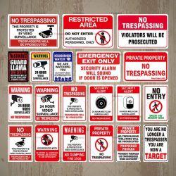 El óxido de aluminio sin señal de seguridad no invadir la vigilancia de señal de tráfico de aluminio para advertir a la seguridad