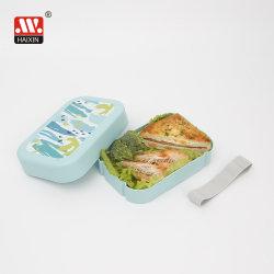 Scatola di plastica per pranzo/pane con stampa UV