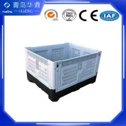 Le PEHD le pliage Grand 1200*1000*810 palette plastique Box Bin des fruits et légumes