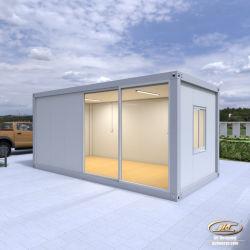 Het geprefabriceerde Huis van de Container van de Winkel van de Bouw van de Structuur van het Staal van de V.S. van de Luxe Prefab