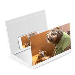 Gadget Celular Agrandar foto 3D de 12 pulgadas de pantalla del teléfono Enlarger