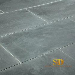mattonelle/lastra grige spesse dell'ardesia di 2cm per la decorazione esterna del pavimento in giardino