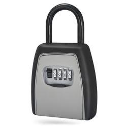 Новая конструкция из 4 чисел пароль ключа дыма из алюминиевого сплава блокировки замка открытый ключ для хранения замок безопасности с помощью рукоятки Xmm-K41-H