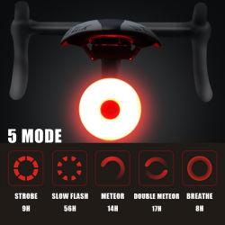 Indicatori luminosi posteriori Ipx5 della mini del LED della bicicletta del fanale posteriore bici addebitabile del USB