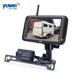 """La visione notturna senza fili IP69 di IR impermeabilizza la macchina fotografica di riserva della targa di immatricolazione con un video di 4.3 """" TFT LED per la sicurezza dell'automobile"""