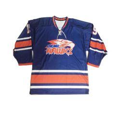 Juego de Hockey sobre Hielo sublima la práctica al por mayor camisetas de club de hockey de la formación de poliéster Camiseta de Hockey de calcetines cortos