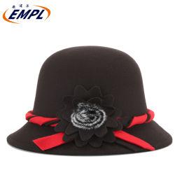 冬2020の新しい毛織のシルクハット、冬の熱帽子の方法女性のウールのフェルトのClocheの帽子のソフト帽の帽子