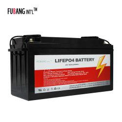 Kundenspezifische Tiefzyklus-wiederaufladbare LiFePO4 Solar-Energie-Speichersystem-Batterie 24 V 100 ah