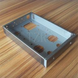 OEM Custom chasis Amplificador Amplificador de audio de bricolaje Vertical Vertical Dibujo de alambre de acero inoxidable Casel005 Singl