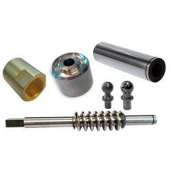 CNC Edelstahl Aluminium gedreht maschinell geschmiedete Drehmaschine Customized Industrial Teile
