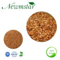 Lino mayorista Lignanos (SDG) el 60% / Extracto de semillas de lino puro natural en polvo Nº CAS 148244-82-0.