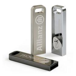 Clé USB Flash Drive le logo OEM 2GB 4GO 8 GO de 16Go et 32 Go 64 Go de mémoire USB en métal dur 2.0 3.0 Pen Drive