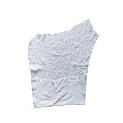 Ткань для очистки масла поглощения 25-55 см * 25-55 см 100% Футболка Белый хлопок ветошь