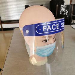 Op voorraad Anti Fog Transparent Pet Plastic Eyes Mouth Nose Bescherming gelaatsscherm