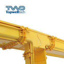 Certificación de fabricación Guider de fibra óptica de PVC ISO 9001 120mm