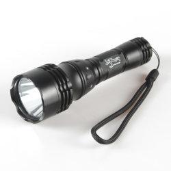 Alliage d'aluminium étanche Yichen LED rechargeable Lampe torche de plongée