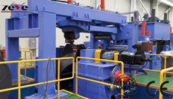 Bobinas de acero completa automática Corte Recoiling o cortar la longitud de línea compuesto de máquina de corte de la máquina