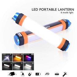 Outdoor Wasserdicht IP65 Multifunktionales Camping LED-Taschenlampe für Wandern, Beleuchtung zu Hause, Outdoor-Nachtfischen