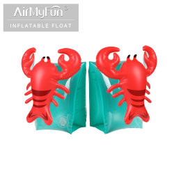 공장 도매 친환경 패션 PVC 최고 품질의 수영장 및 어린이용 비치 토이 불팽창식 암 링