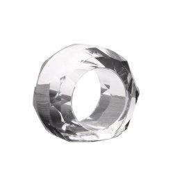 Anelli di tovagliolo di cristallo dei commerci all'ingrosso